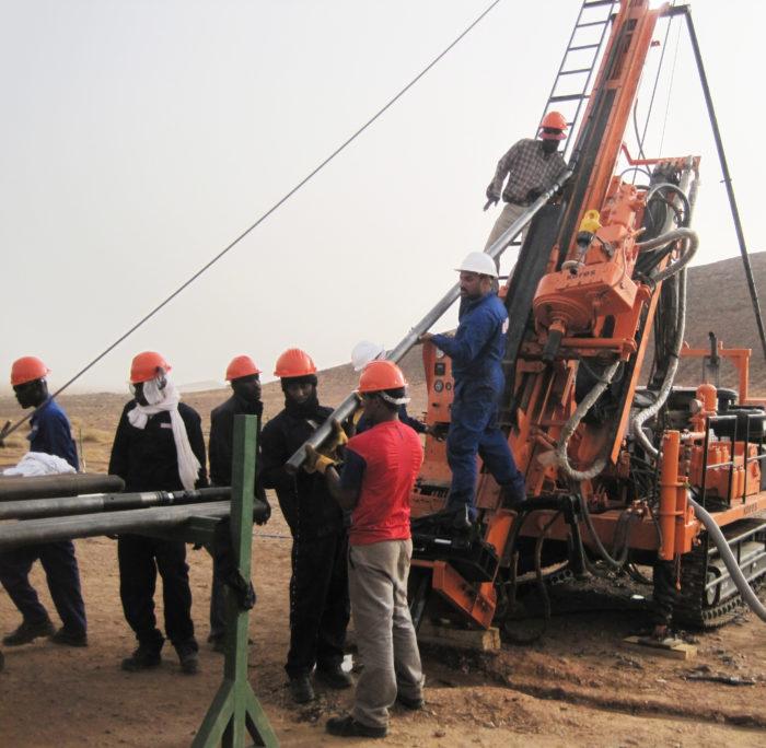 Forage Minier - Groupe Magma - Afrique